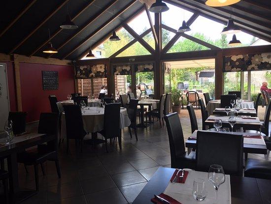 Restaurant le jardin des roches dans fondettes avec for Restaurant avec jardin dans le 92