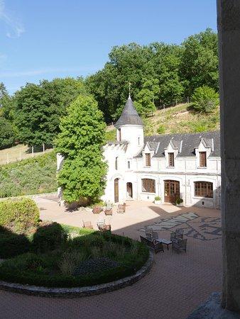 Condat-sur-Vezere, France: Blick aus dem Schlafzimmer Nr. 4