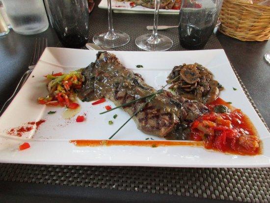 Sance, Francia: Viande excellente