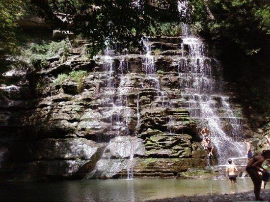 Cascata dell'Alferello (Cascata delle Trote): Cascata Alfero