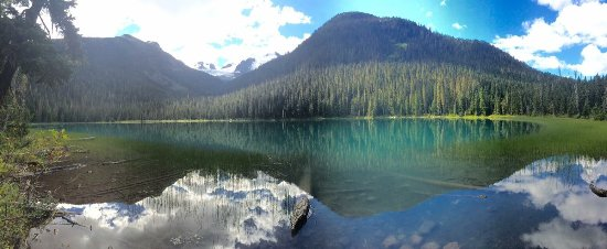 Pemberton, Kanada: All 3 lakes at Joffre