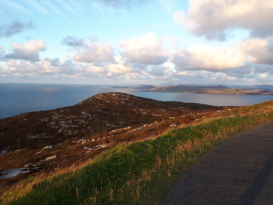 Dunfanaghy, Ireland: Viewing point at Horn head