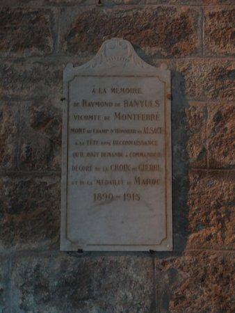 Église Sainte-Marie, Montferrer, (Pyrénées-Orientales, Occitanie), France.