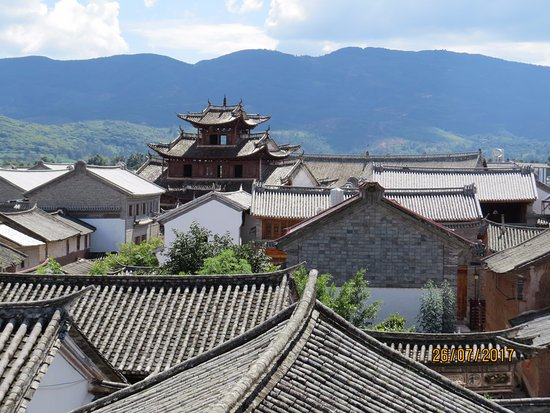 Dali, China: View to the roofs