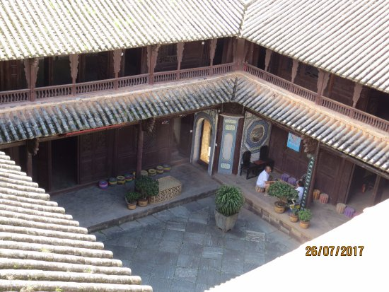 Dali, China: an old muslim house