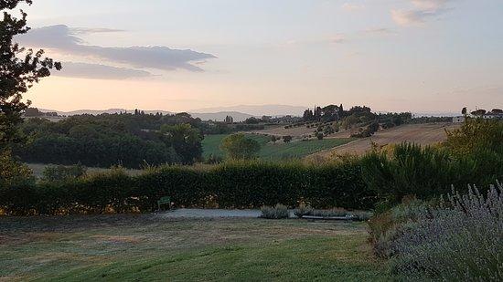 Marciano della Chiana, Italien: le terrain de pétanque