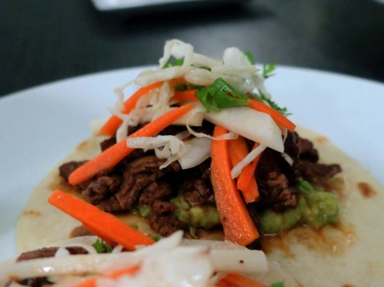 Chipotle beef tacos, very loaded and delicious. - Picture ...