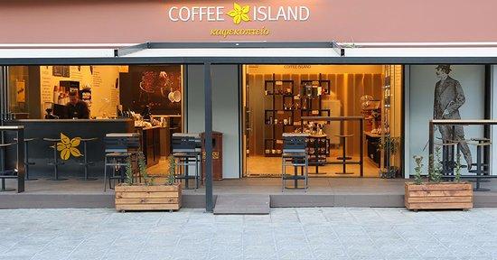 Pyrgos, Grecia: Coffee Island
