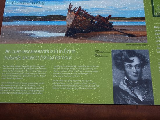 Bunbeg House : Story of the harbour
