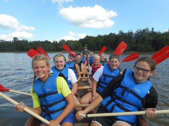 Spicer, Μινεσότα: Canoeing