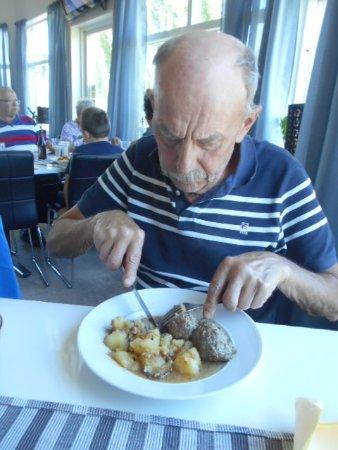 Ljusdal, Sweden: Dagens lunch !