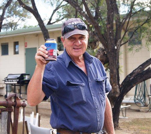 Monto, Australia: Our genial host.