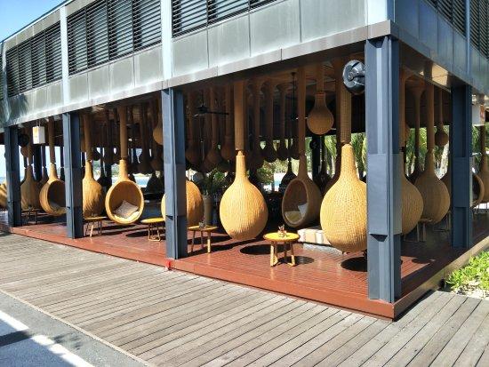 InterContinental Sanya Resort: Cool Swinging Chairs