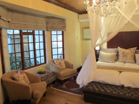 Addo, Νότια Αφρική: Schlafraum mit Fenster