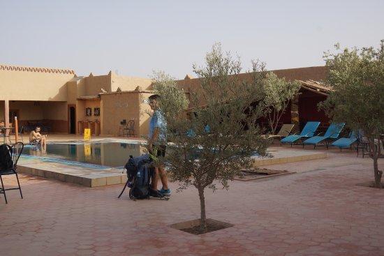 Palais des dunes: Piscina del hotel!