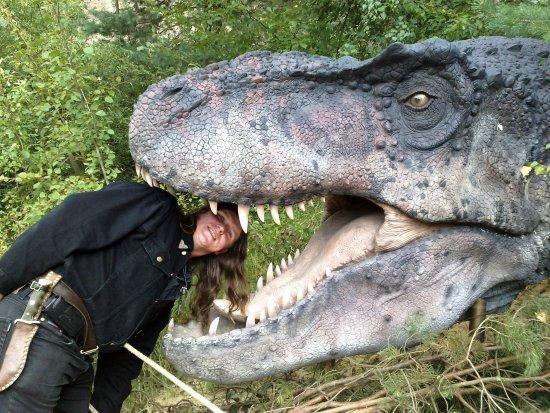 Boskovice, Tschechien: Dinopark pod Westernovým městečkem 2012