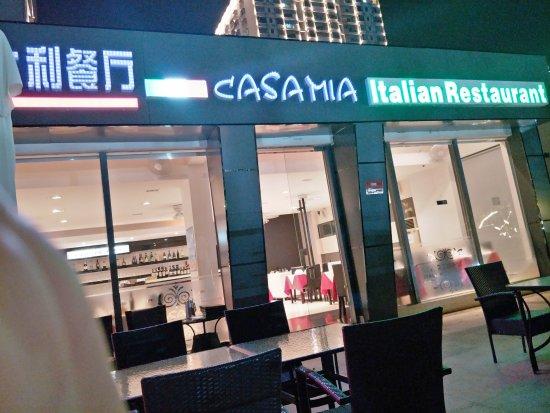Casa Mia Italian Restaurant: restaurant front