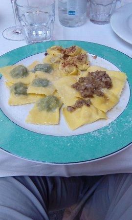 San Polo d'Enza, Italie : Tris Di Ravioli..... Yuhmmm