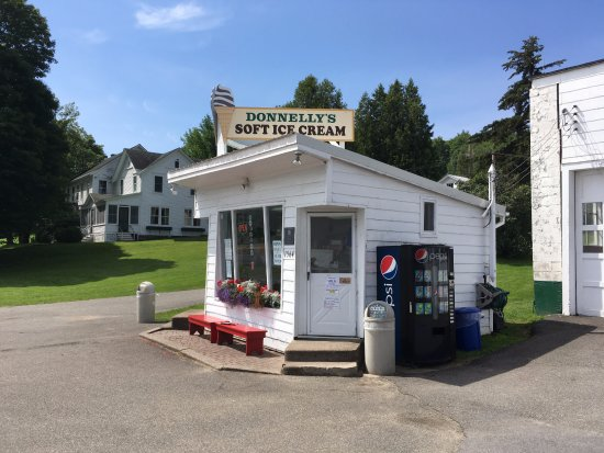 Donnelly's Ice Cream: Route 86, Saranac Lake NY. Worth a pilgrimage.