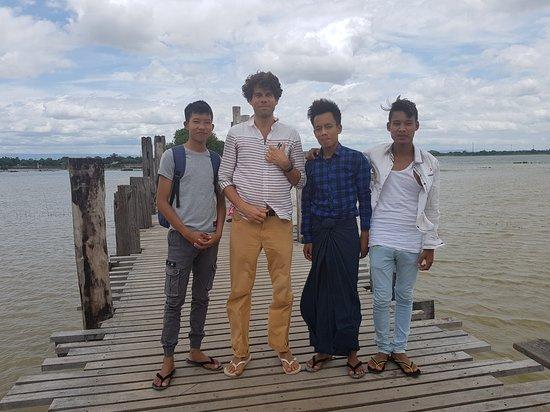 Амарапура, Мьянма: Antonio Addamiano 11 agosto 2017 Mandalay
