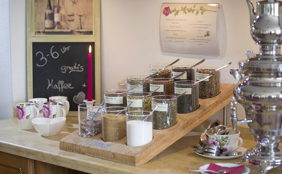 Oberndorf, Autriche : jeden Tag gratis Kaffee- und Teebar