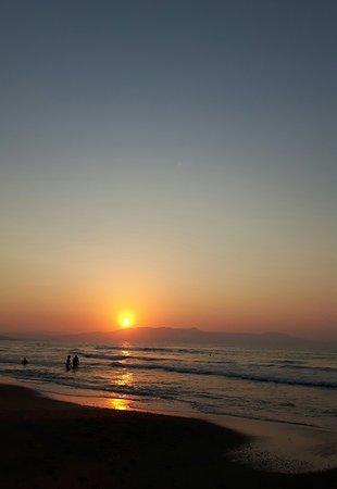 Agia Marina Beach: 20170809_234340_large.jpg