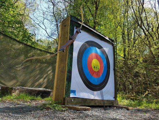 Kendal, UK: Archery