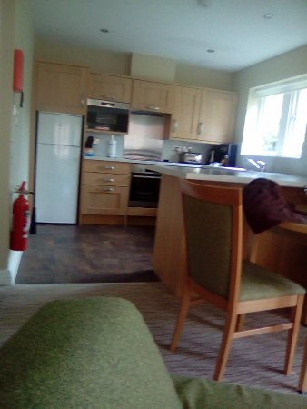 Thurnham, UK: Inside a studio apartment from the living area very spacious