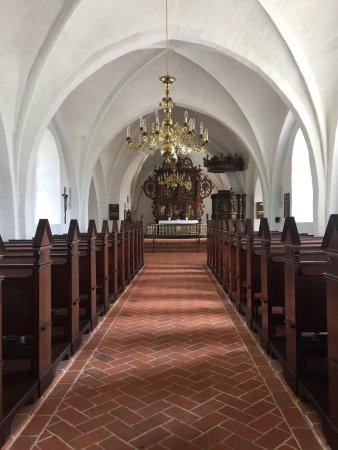 Haderslev, Dänemark: Kirche von innen