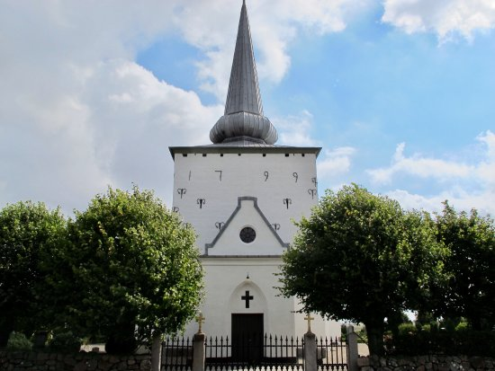 ฮะเดอร์สเลฟ, เดนมาร์ก: Kirche von außen