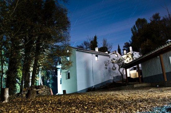 Archidona, Hiszpania: Por la noche tranquilidad y un cielo muy estrellado