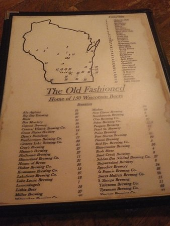 The Old Fashioned Madison Menu Prices Amp Restaurant