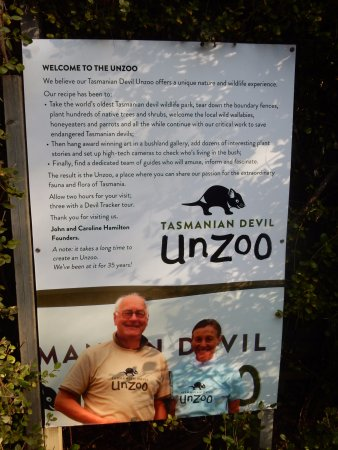 Taranna, Australia: Tasmanian Devil Unzoo