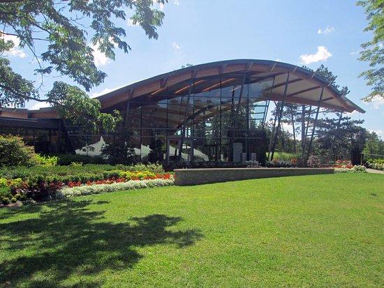 Royal Botanical Gardens: Rock Garden Building