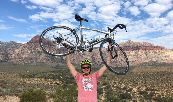 McGhie's Guided Bicycle and Hiking Tours: Views are amazing!