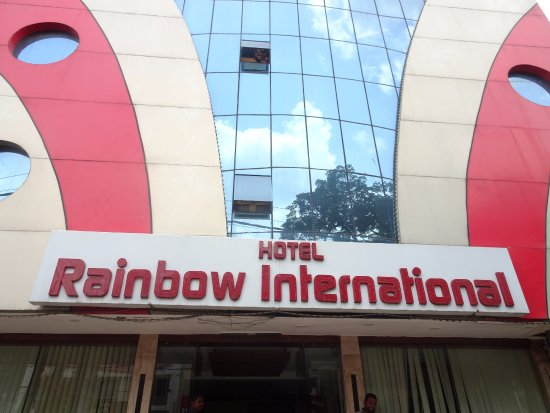 Entrance Picture Of Rainbow International Hotel Hyderabad