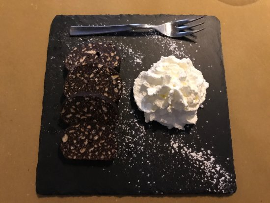 Natta Cafe: Chocolate Salame
