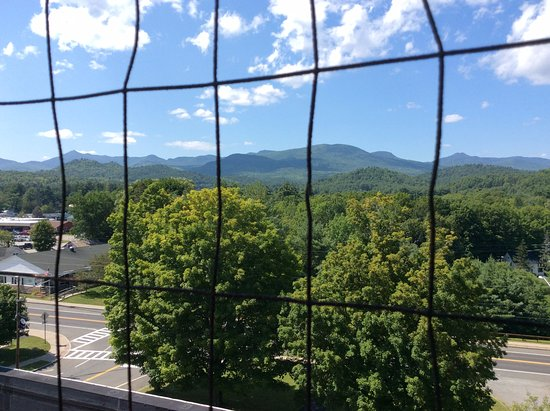 Elizabethtown, Estado de Nueva York: Firetower view