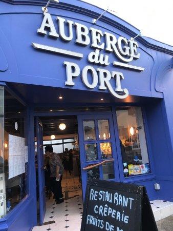 Auberge du port guilvinec restaurant avis num ro de - Auberge dab porte maillot restaurant ...