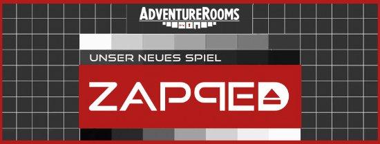 Neues Spiel ZAPPED AdventureRooms Oftringen