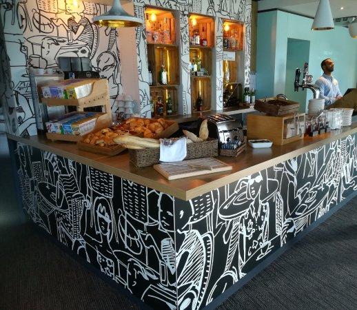 Borehamwood, UK: Basic maar verzorgd ontbijt, alles was aanwezig!