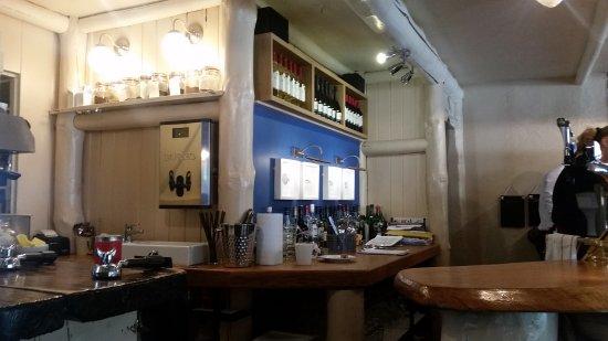 Long Eaton, UK: Counter/Bar area