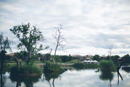 Lephalale, جنوب أفريقيا: Mirror reflection