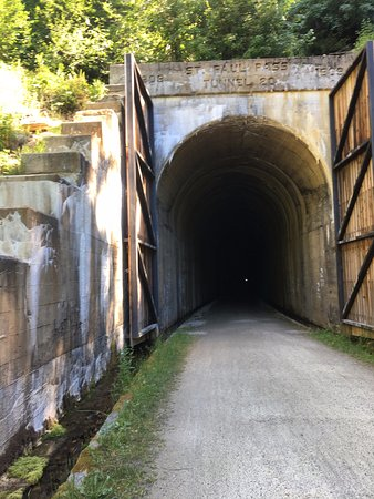 Mullan, ID: First Tunnel!