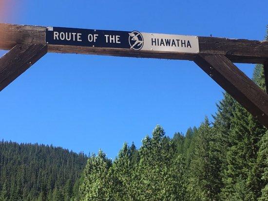 Mullan, Αϊντάχο: Bike the Hiawatha!
