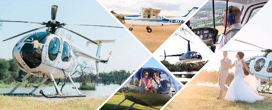 Lephalale, جنوب أفريقيا: Palala has a airstrip and 2 helipads 