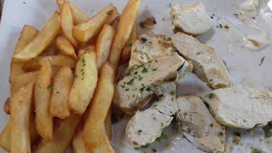 Filet de poulet grill au thym et citron picture of la civette saint valery sur somme - Filet de poulet grille recette ...