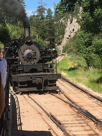 Hill City, Южная Дакота: Train approaching