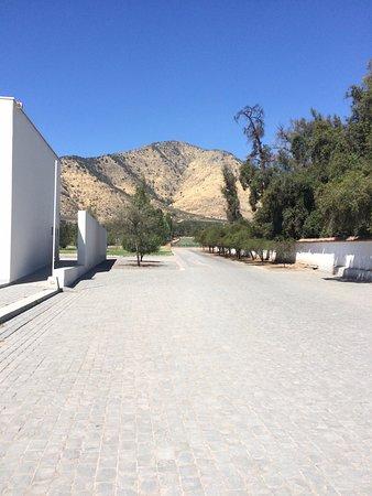Alto Jahuel, Cile: Ingreso a Museo andino