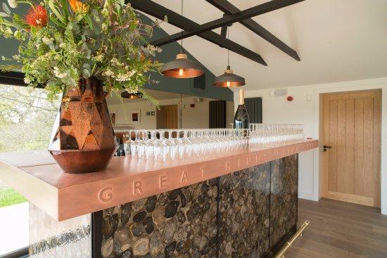 Tenterden, UK: Chapel Down Wine Sanctuary Bar